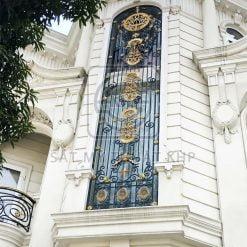 Mẫu khung bảo vệ cửa sổ quý tộc đẳng cấp KBV002