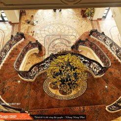 Cầu thang Sắt Mỹ Thuật đẹp cổ điển phong cách châu Âu CT012