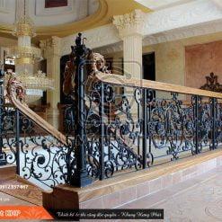 Cầu thang phong cách tân cổ điển CT013