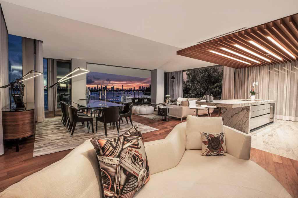 Ban đêm Dự án Monad Terrace Top giải thưởng SBID năm 2020
