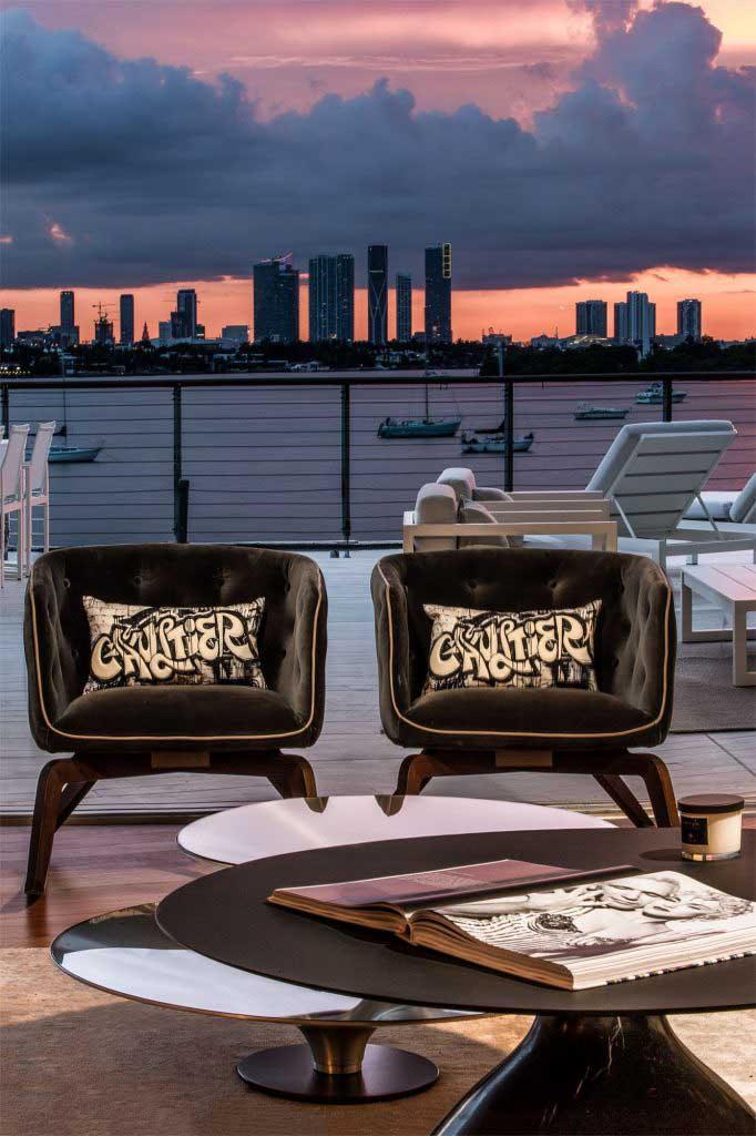 Góc nhìn ngoài trời Dự án Monad Terrace Top giải thưởng SBID năm 2020