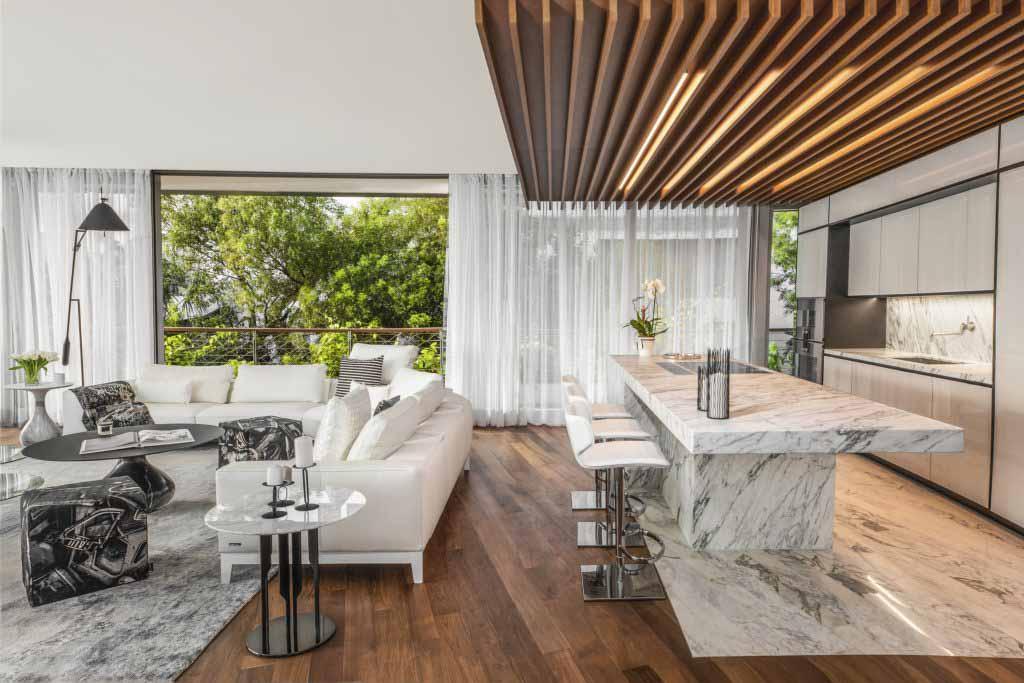 Hình ảnh bếp Dự án Monad Terrace Top giải thưởng SBID năm 2020