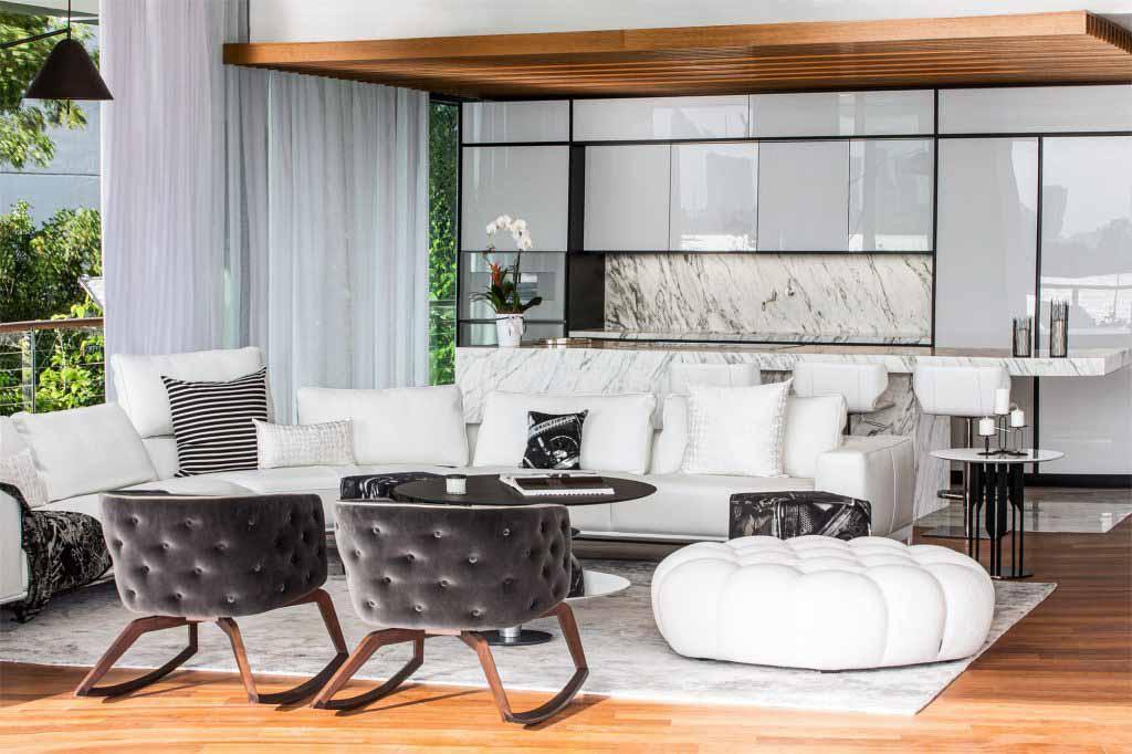 Hình ảnh nội thất chính Dự án Monad Terrace Top giải thưởng SBID năm 2020