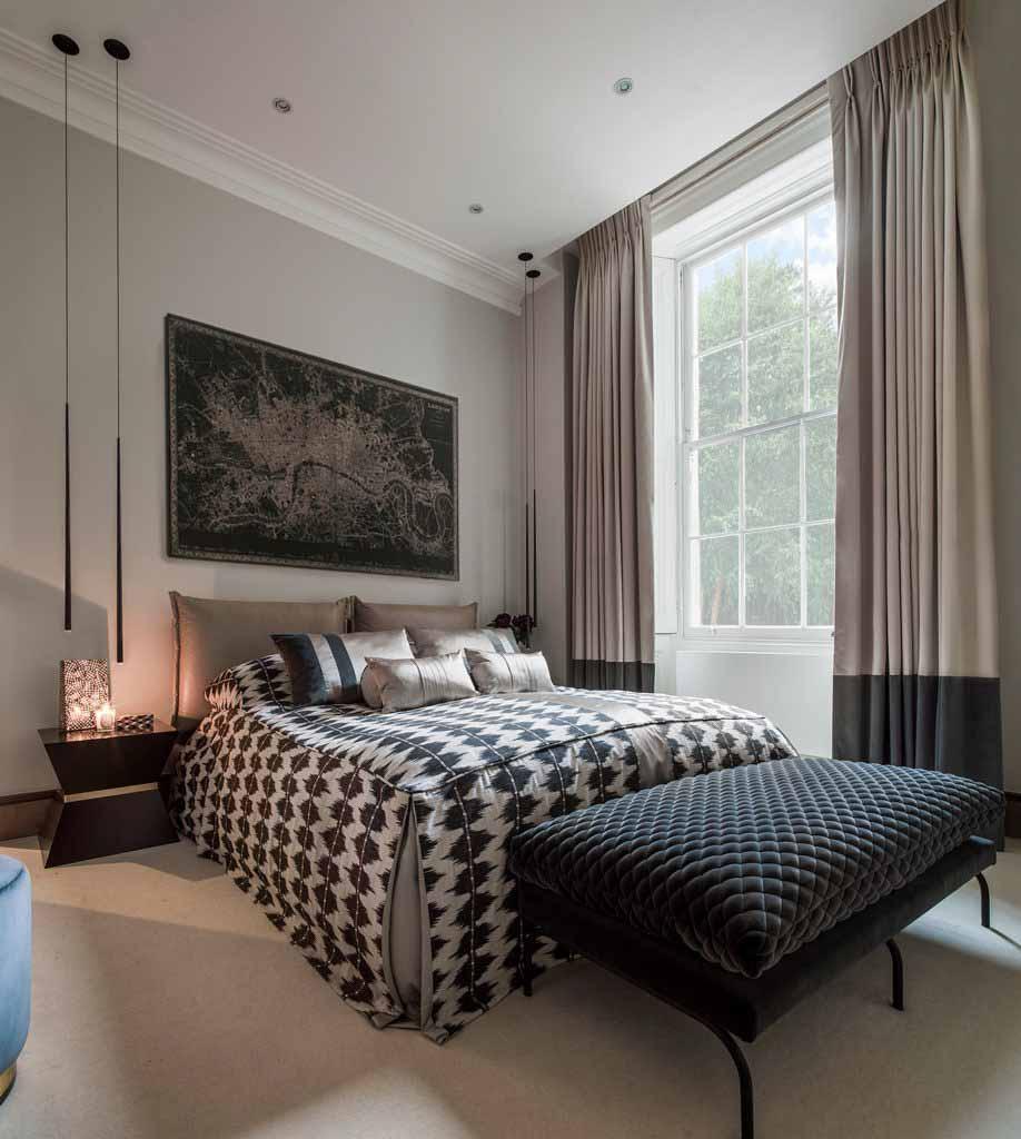 Hình ảnh phòng ngủ chính căn hộ Knightsbridge top đề cử SBID 2020